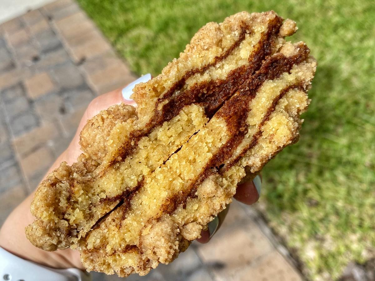 Gideon's Bakehouse Coffee Cake Cookie
