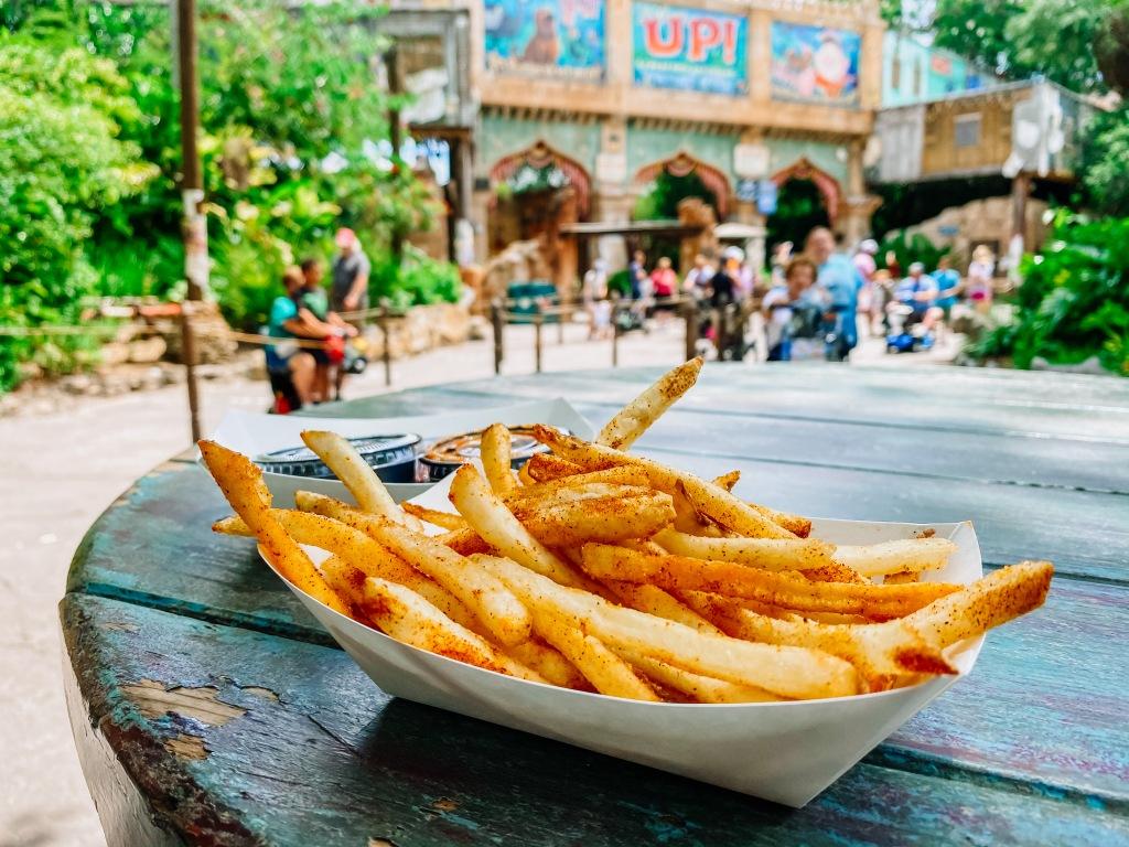 Mr. Kamal's fries at Disney's Animal Kingdom