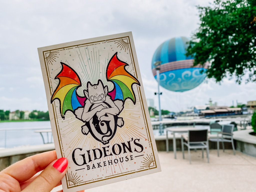 Gideon's Bakehouse menu