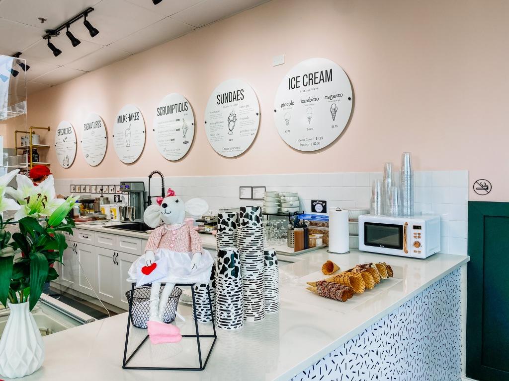 Bacio's Ice Cream Shop